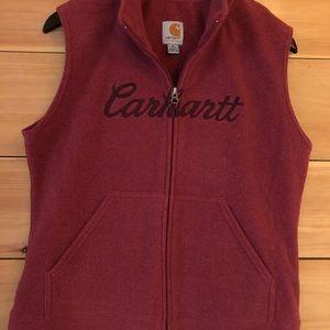 Carhartt fleece vest, M